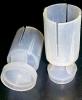 Пыж контейнер универсальный - 12 калибра - Общая высота пыж + амортизатор + стакан (контейнер) - 39 мм. Высота контейнера для дроби - 25 мм.